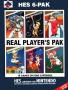Nintendo  NES  -  6 in 1 Real Player's Pak-HES