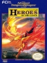 Nintendo  NES  -  AD&D Heroes of the Lance
