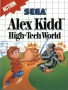 Sega  Master System  -  Alex Kidd High Tech World (Front)