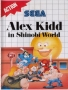 Sega  Master System  -  Alex Kidd in Shinobi World (Front)