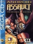 Sega  Sega CD  -  Android Assault - The Revenge of Bari-Arm (U) (Front)