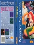Sega  Master System  -  Ariel - The Little Mermaid