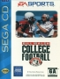 Sega  Sega CD  -  Bill Walsh College Football (U) (Front)