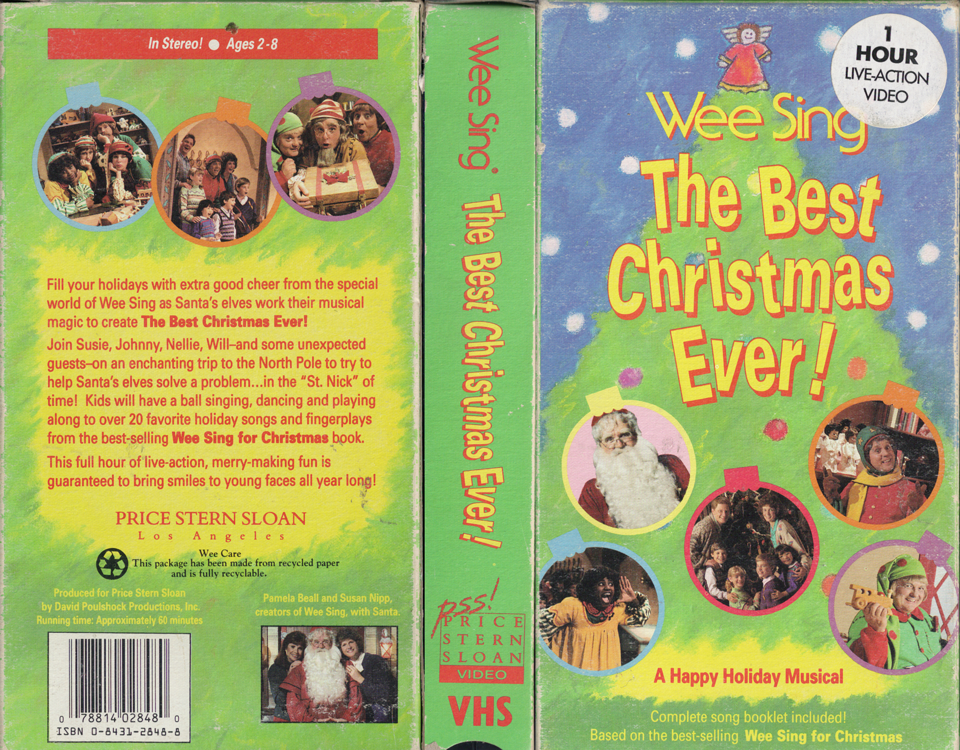 Wee Sing The Best Christmas Ever Vhs.Retro Daze Vhs Covers